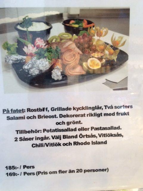 vegetarisk catering göteborg